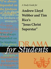 "A Study Guide for Andrew Lloyd Weber/tim Rice's ""jesus Christ Superstar"""