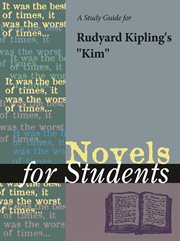 "A Study Guide for Rudyard Kipling's ""kim"""