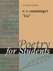 "A Study Guide for E. E. Cummings's ""l(a"""