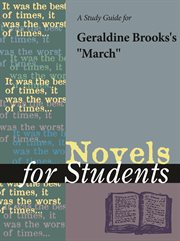"A Study Guide for Geraldine Brooks's ""march"""
