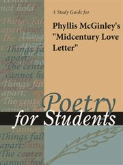 """A Study Guide for Phyllis Mcginley's """"midcentury Love Letter"""""""