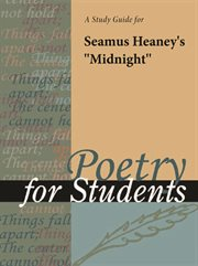 "A Study Guide for Seamus Heaney's ""midnight"""
