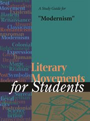 """A Study Guide for """"modernism"""""""