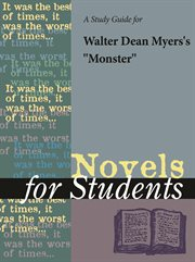 "A Study Guide for Walter Dean Myers's ""monster"""