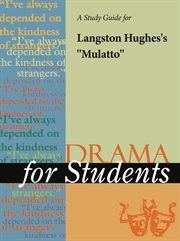 "A Study Guide for Langston Hughes's ""mulatto"""
