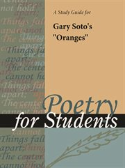 """A Study Guide for Gary Soto's """"oranges"""""""