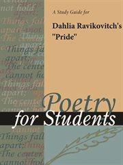 "A Study Guide for Dahlia Ravikovitch's ""pride"""