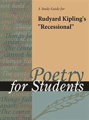 """A Study Guide for Rudyard Kipling's """"recessional"""""""
