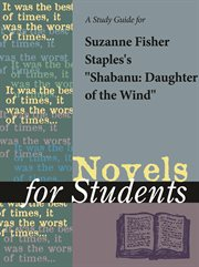 "A Study Guide for Suzanne Fisher Staples's ""shabanu"""