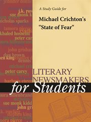 """A Study Guide for Michael Crichton's """"state of Fear"""""""
