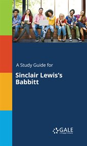 A Study Guide for Sinclair Lewis's Babbitt cover image
