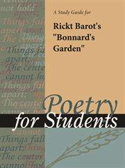 "A Study Guide for Rick Barot's ""bonnard's Garden"""
