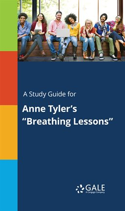 """Cover image for A Study Guide for Anne Tyler's """"Breathing Lessons"""""""