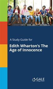 A study guide for edith wharton's the age of innocence cover image