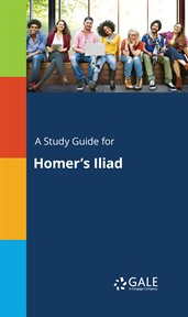 A Study Guide for Homer's Iliad cover image