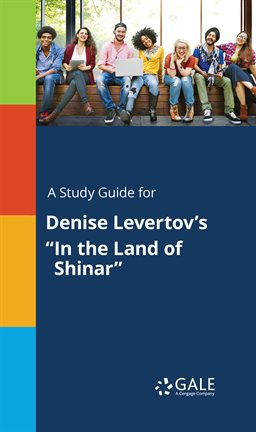 "Cover image for A Study Guide for Denise Levertov's ""In the Land of Shinar"""
