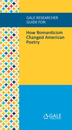 Cover image for How Romanticism Changed American Poetry