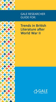 Cover image for Trends in British Literature after World War II