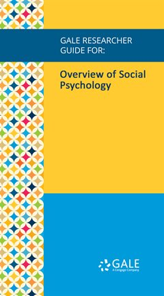 Cover image for Overview of Social Psychology