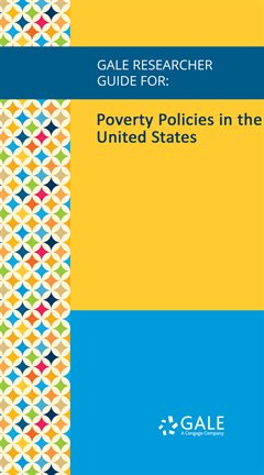 Cover image for Poverty Policies in the United States