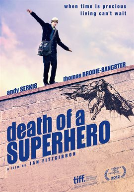 Cover image for Death of a Superhero