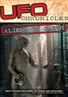 Crónicas de ovnis, portada del libro