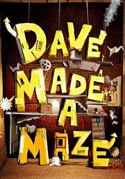 Dave made a maze cover image