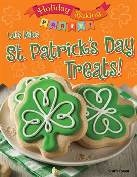 Let's Bake St. Patrick's Day Treats!, book cover