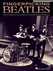 Fingerpicking beatles (songbook). 30 Songs Arranged for Solo Guitar in Standard Notation & Tab cover image
