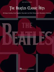 The beatles classic hits (songbook) cover image