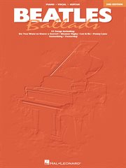 Beatles ballads (songbook) cover image