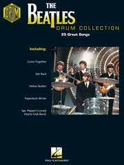 The beatles drum collection (songbook) cover image