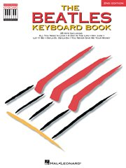 The beatles keyboard book (songbook) cover image