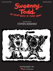 Sweeney todd (songbook). Vocal Selections cover image