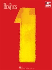 The beatles - 1 (songbook). For Easy Guitar with Riffs & Solos (with Tab) cover image