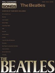 Essential songs - the beatles (songbook) cover image