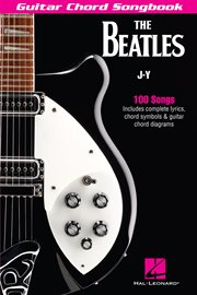 The beatles guitar chord songbook. J-Y cover image