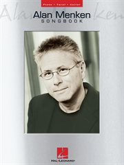Alan Menken songbook cover image