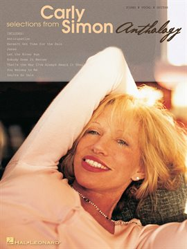 Cover image for Selections from Carly Simon - Anthology (Songbook)