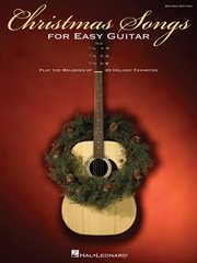 Christmas songs for easy guitar (songbook) cover image