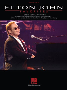 Cover image for Elton John Favorites