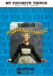 My favorite things (from the sound of music) (sheet music) cover image