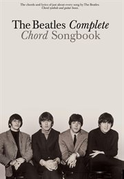 The beatles complete chord songbook cover image