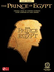 The prince of egypt (songbook) cover image