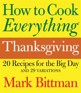 Cover of How to Cook Everything Thanksgiving by Mark Bittman