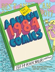 The best American comics 2017 cover image