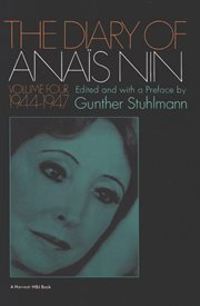 The diary of Anaïs Nin. 1944-1947 cover image