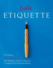 Emily Post's Etiquette cover image