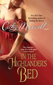 In the highlander's bed cover image