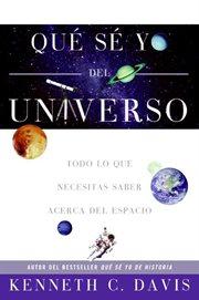 Que se yo del universo cover image